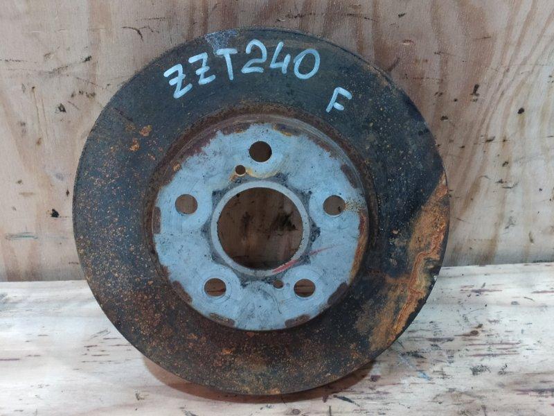 Диск тормозной Toyota Allion ZZT240 1ZZ-FE 2003 передний