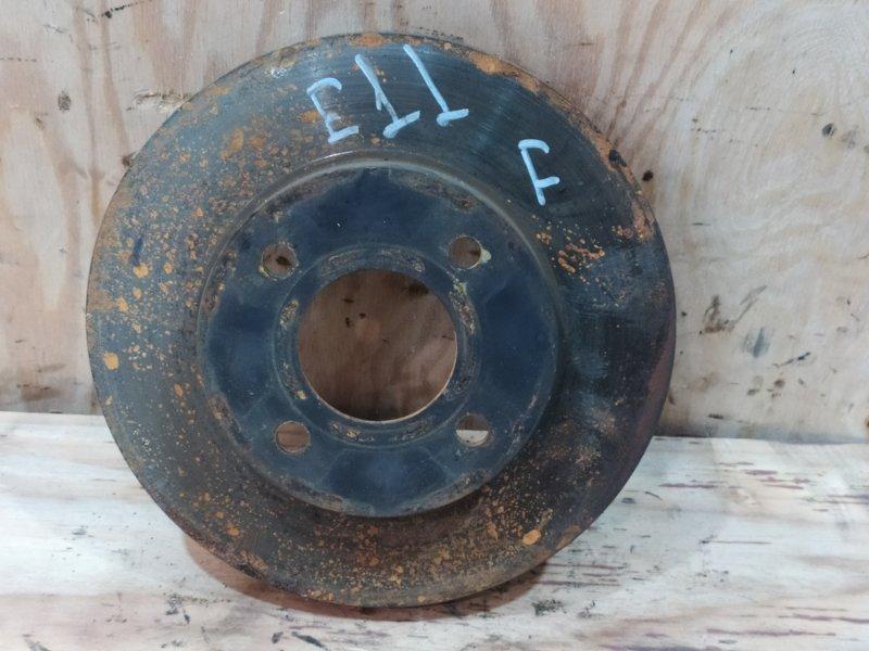 Диск тормозной Nissan Note E11 HR15DE 2009 передний