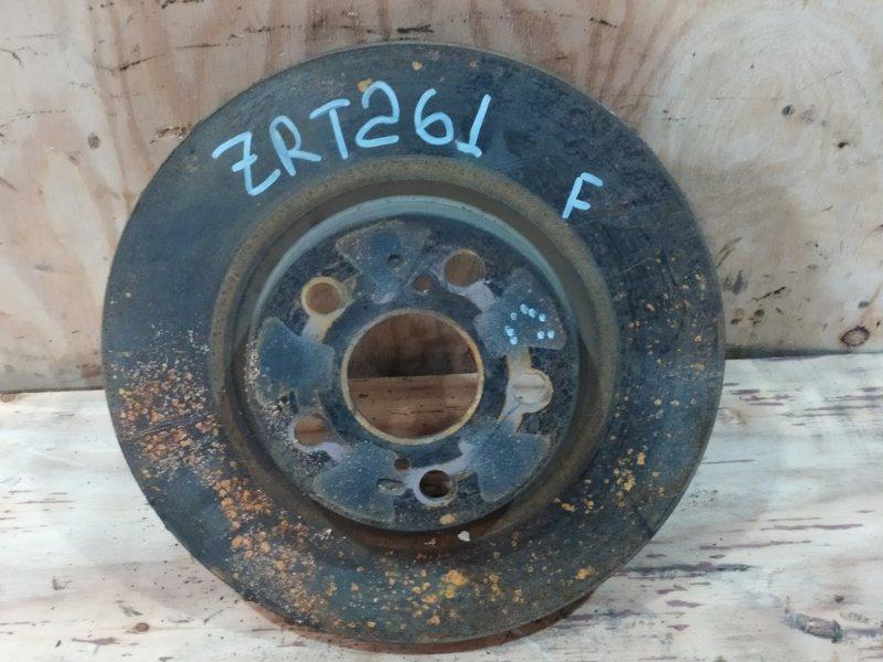 Диск тормозной Toyota Allion ZRT261 3ZR-FAE 2008 передний