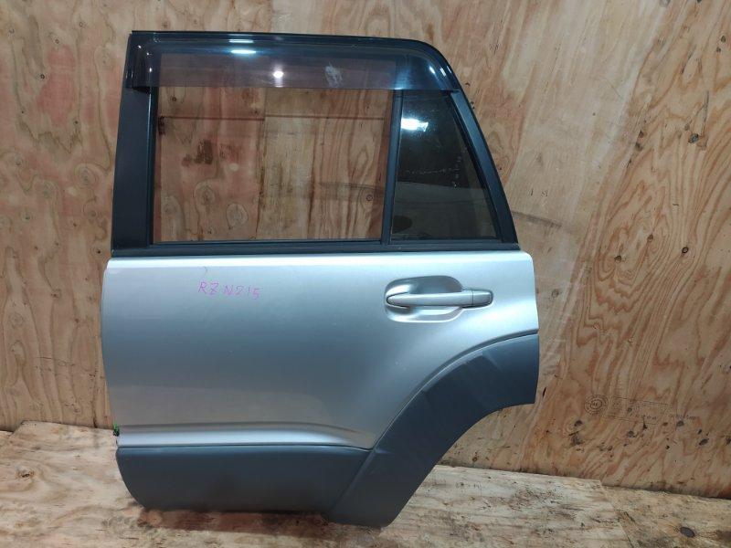 Дверь боковая Toyota Hilux Surf RZN215W 3RZ-FE 2003 задняя левая