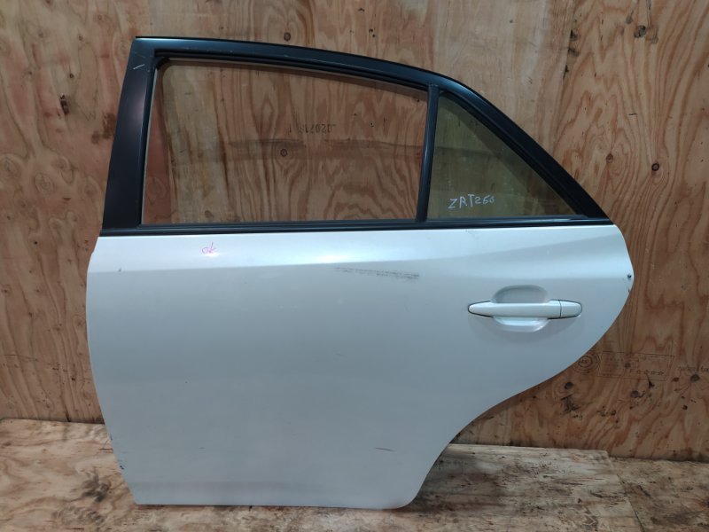 Дверь боковая Toyota Allion ZRT260 2ZR-FE 2007 задняя левая