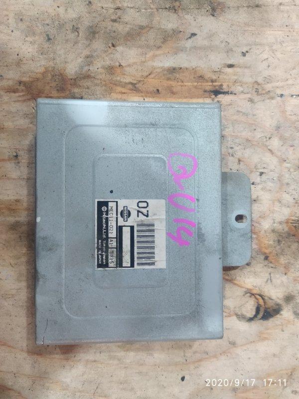 Блок управления двс Nissan Bluebird QU14 QG18DE 2000