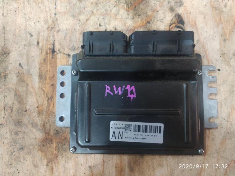 Блок управления двс Nissan Avenir RW11 QR20DE 2005
