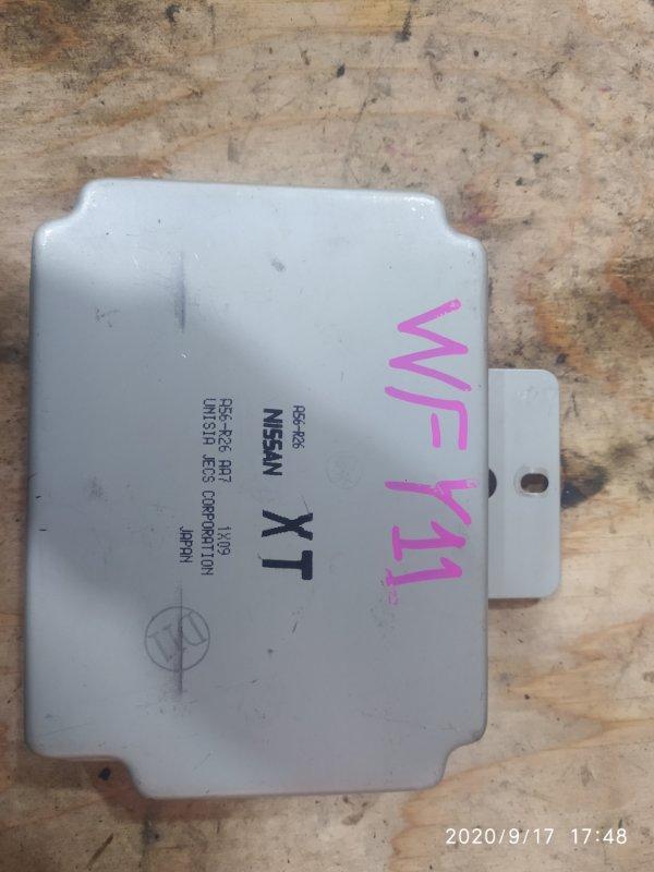 Блок управления двс Nissan Wingroad WFY11 QG15DE 2001