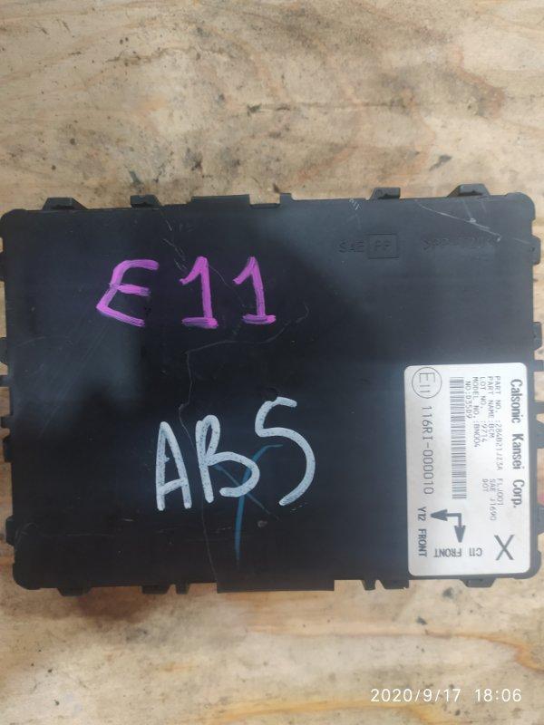 Блок управления abs. Nissan Note E11 HR15DE 2009