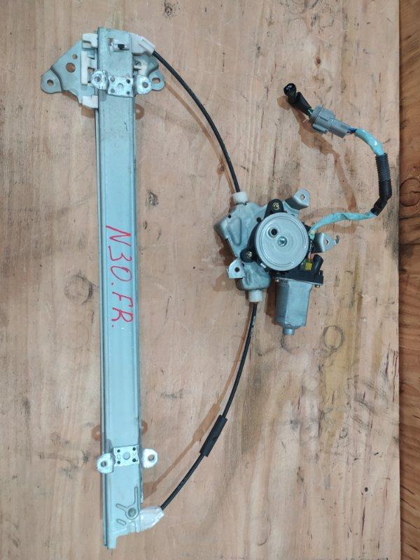 Стеклоподъемник Nissan Rnessa N30 SR20DE 2001 передний правый