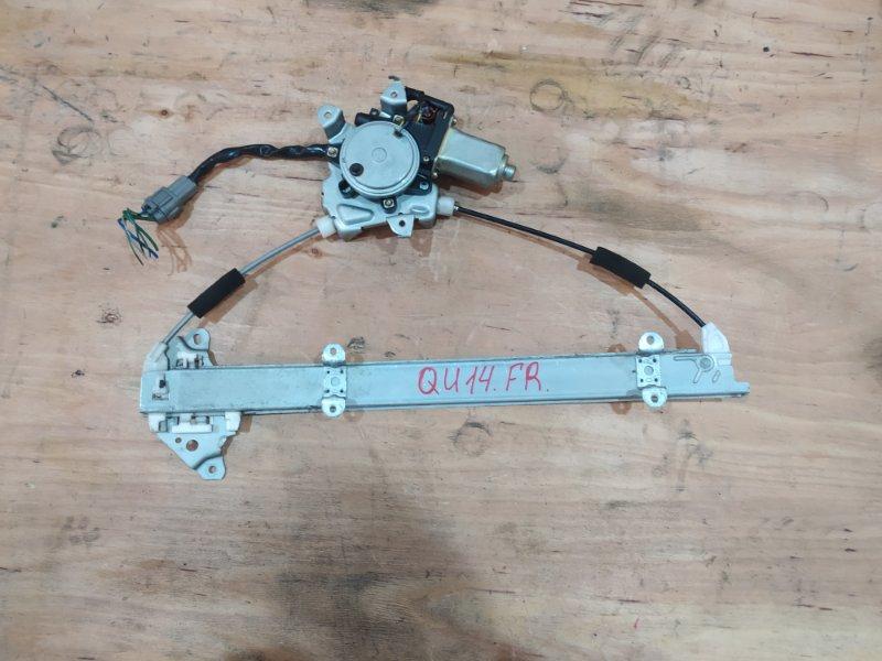 Стеклоподъемник Nissan Bluebird QU14 QG18DE 2000 передний правый
