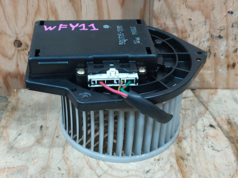 Вентилятор печки Nissan Wingroad WFY11 QG15DE 2001