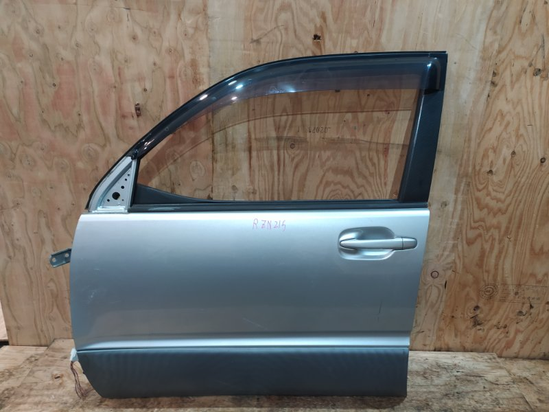 Дверь боковая Toyota Hilux Surf RZN215W 3RZ-FE 2003 передняя левая