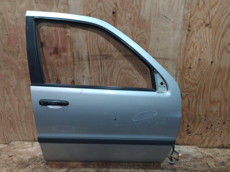 Дверь боковая Toyota Raum EXZ10 `5E-FE 1997 передняя правая