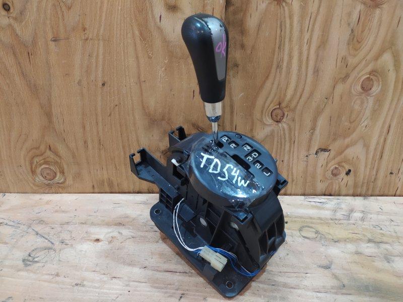 Рычаг переключения кпп Suzuki Escudo TD54W J20A 2007