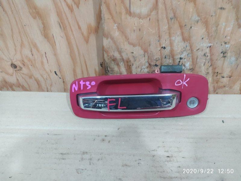 Ручка наружная Nissan X-Trail NT30 QR20DE 2003 передняя левая
