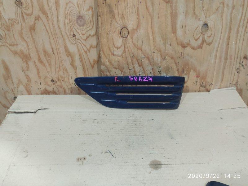 Накладка на крыло Toyota Land Cruiser Prado KZJ95W 1KZ-TE 1997 правая