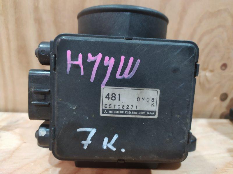 Датчик расхода воздуха Mitsubishi Pajero Io H77W 4G94 2001
