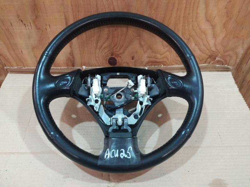 Руль Toyota Kluger ACU25W 2AZ-FE 2001
