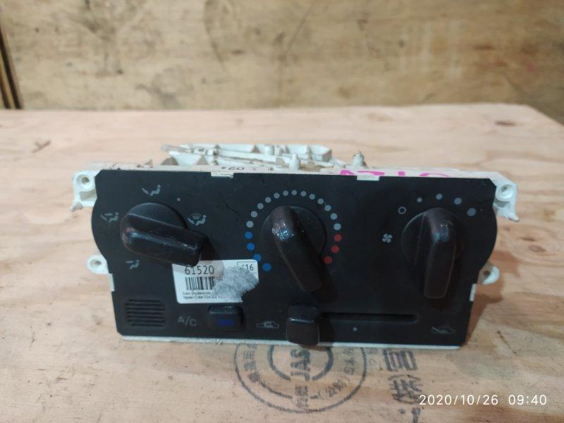 Блок управления климат-контролем Nissan Cube AZ10 CGA3DE 2001