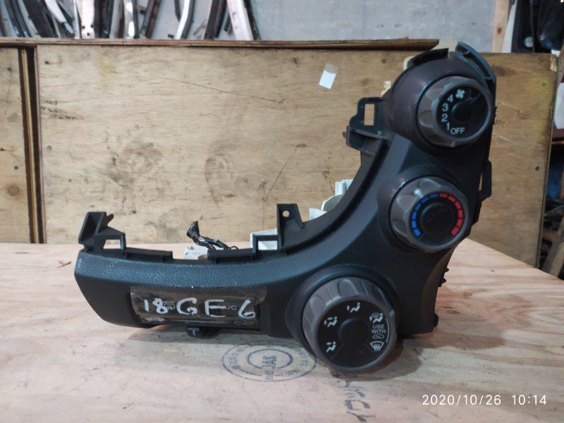 Блок управления климат-контролем Honda Fit GE6 L13A 2008