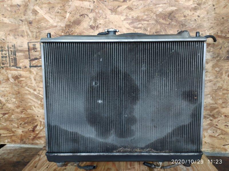 Радиатор двигателя Mitsubishi Pajero V73W 6G72 2002