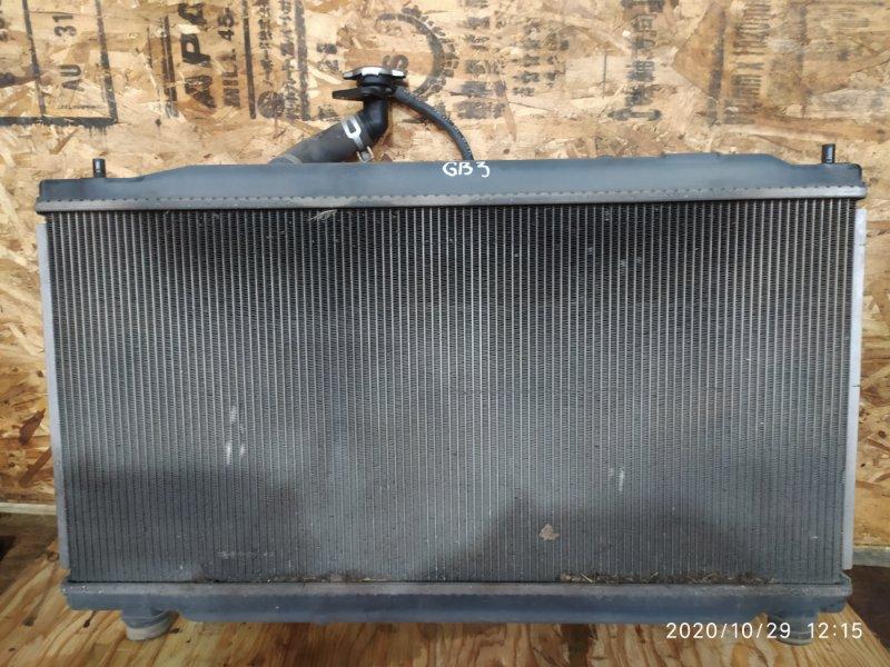 Радиатор двигателя Honda Freed GB3 L15A 2009