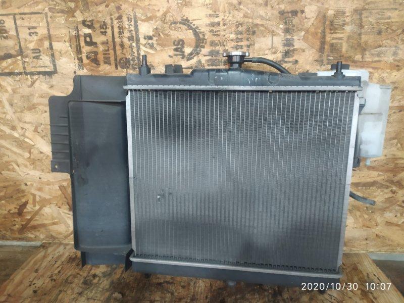 Радиатор двигателя Nissan Note E11 HR15DE 2009