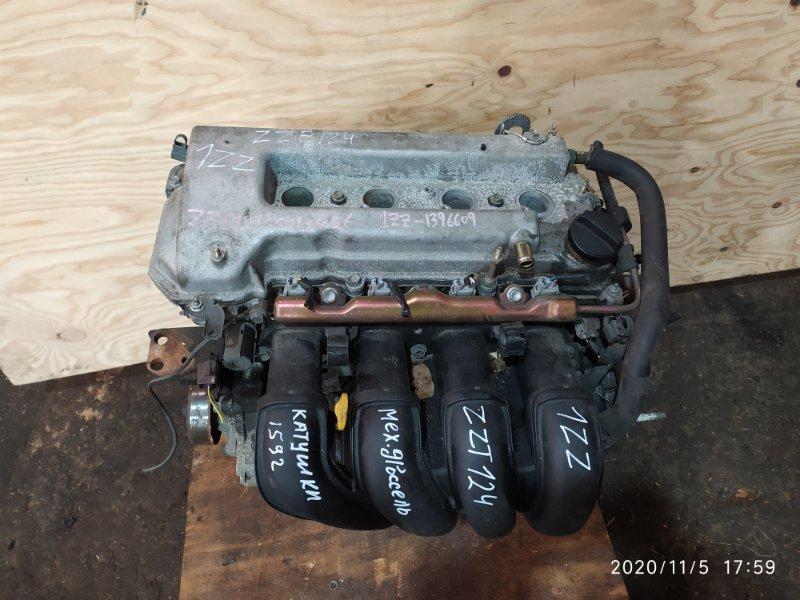 Двигатель Toyota Corolla Fielder ZZE124 1ZZ-FE 2003