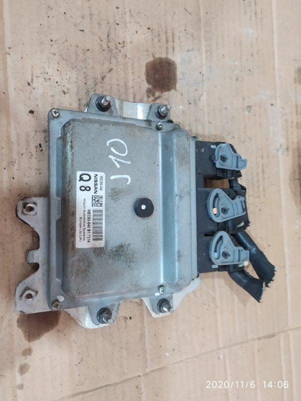 Блок управления двс Nissan Dualis J10 MR20DE 2007