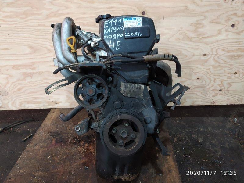 Двигатель Toyota Sprinter EE111 4E-FE 1997