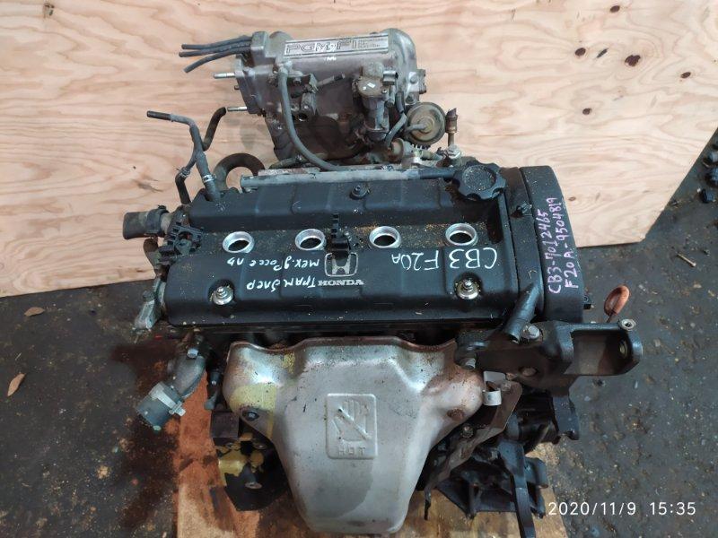 Двигатель Honda Ascot Innova CB3 F20A 1993