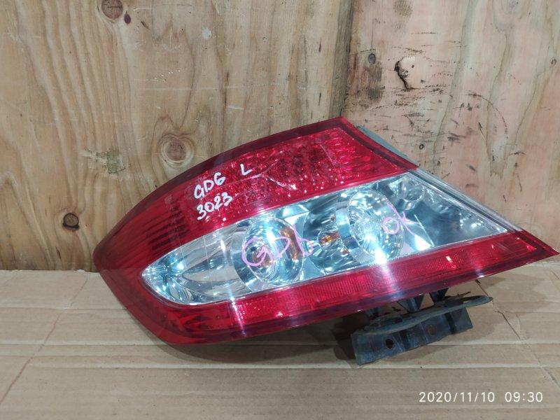 Фонарь стоп-сигнала Honda Fit Aria GD6 L13A 2005 левый