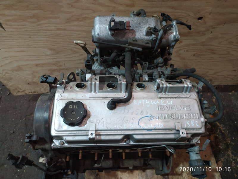 Двигатель Mitsubishi Airtrek CU2W 4G63 2001