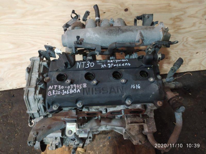 Двигатель Nissan X-Trail NT30 QR20DE 2001