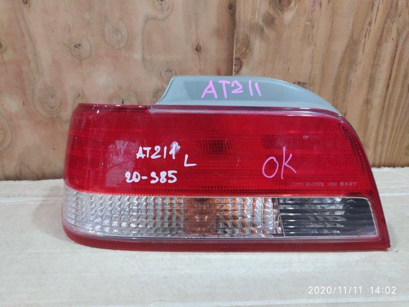 Фонарь стоп-сигнала Toyota Carina AT211 7A-FE 1997 левый