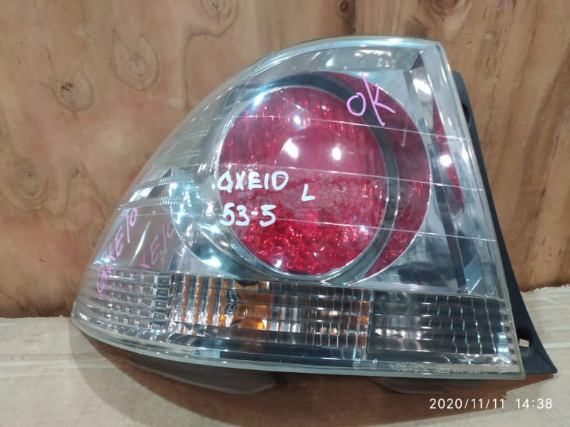 Фонарь стоп-сигнала Toyota Altezza GXE10 1G-FE 1998 левый