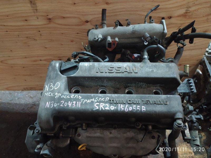Двигатель Nissan Rnessa N30 SR20DE 1999