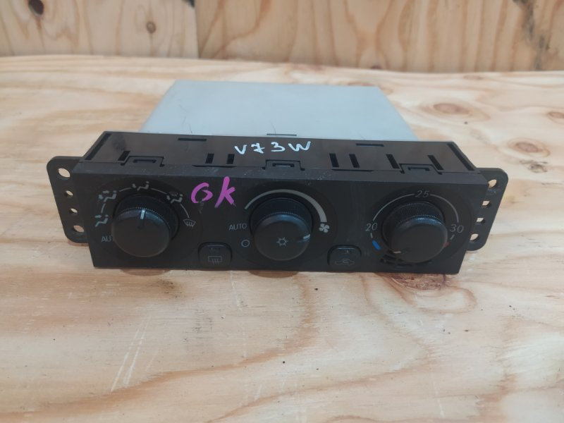 Блок управления климат-контролем Mitsubishi Pajero V73W 6G72 2002