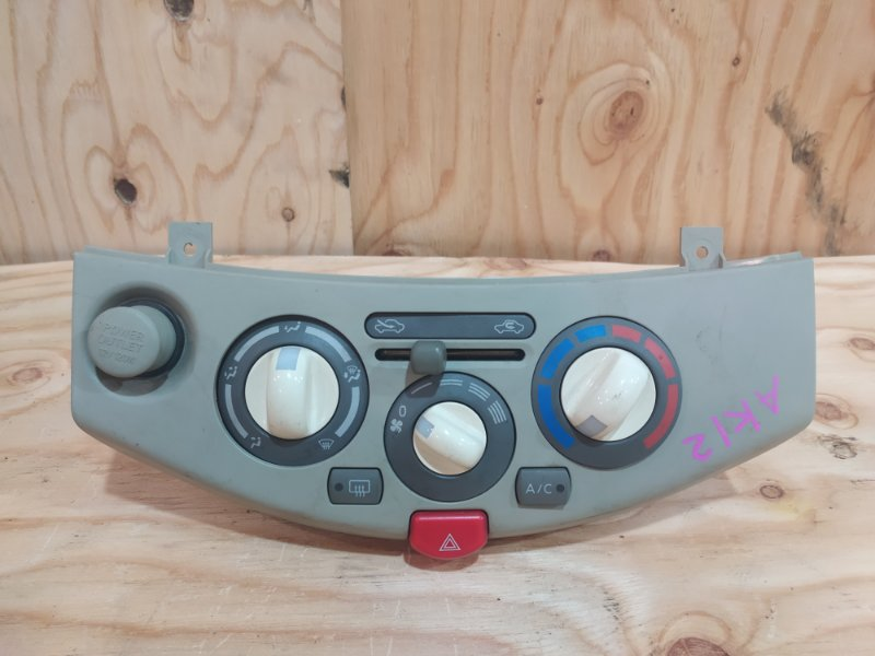 Блок управления климат-контролем Nissan March AK12 CR12DE 2003
