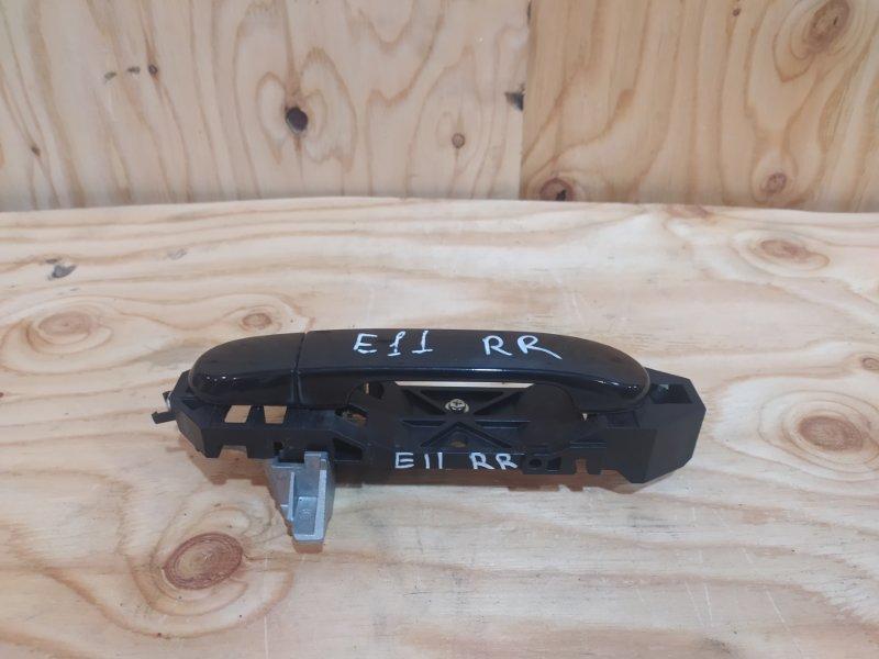 Ручка наружная Nissan Note E11 HR15DE 2009 задняя правая