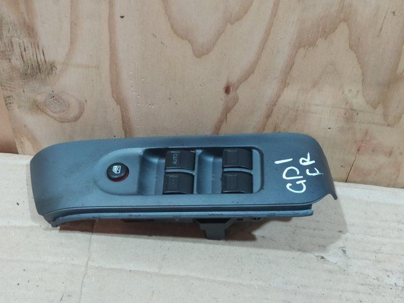 Блок управления стеклоподъемниками Honda Fit GD1 L13A 2001