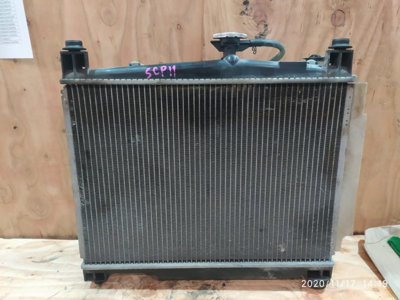 Радиатор двигателя Toyota Platz SCP11 1SZ-FE 2001