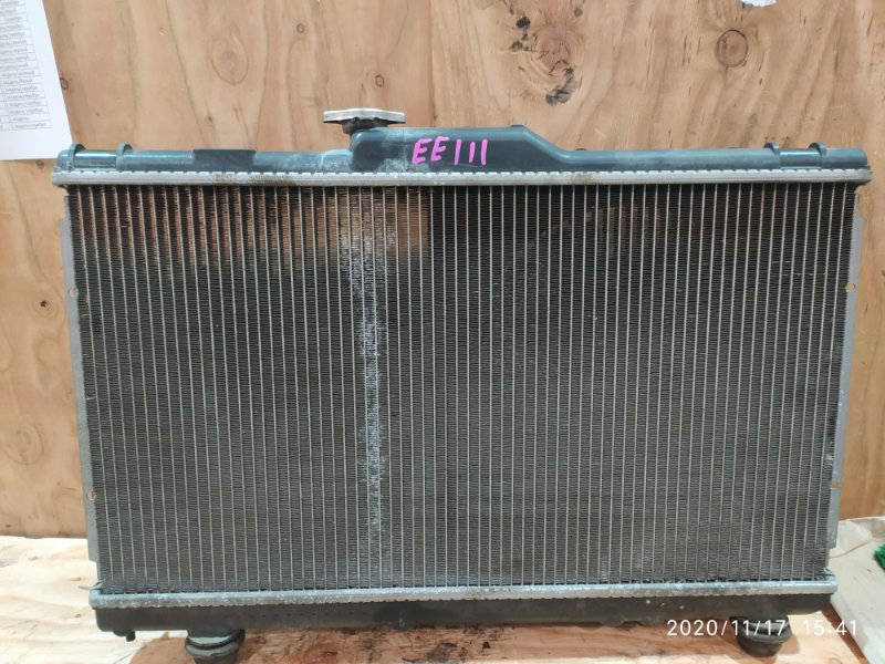 Радиатор двигателя Toyota Corolla EE111 4E-FE 1996