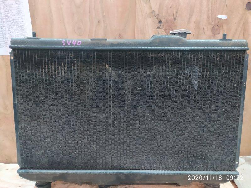 Радиатор двигателя Toyota Camry SV40 4S-FE 1995