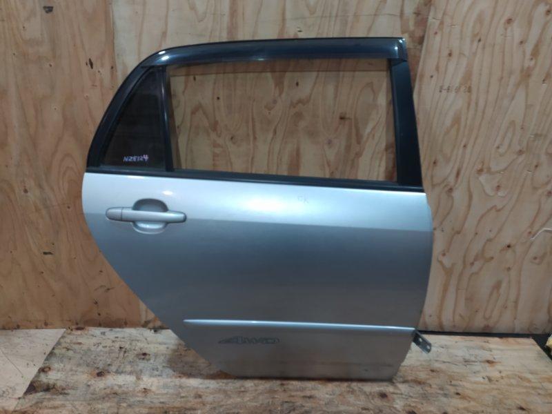 Дверь боковая Toyota Allex NZE124 1NZ-FE 2002 задняя правая
