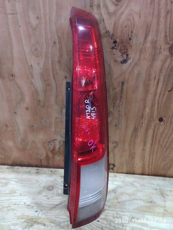 Фонарь стоп-сигнала Nissan X-Trail NT30 QR20DE 2001 правый