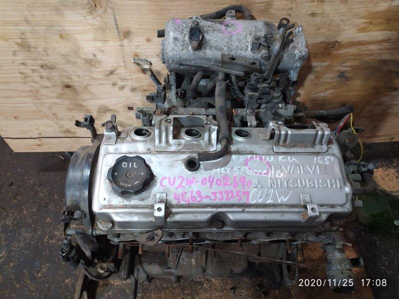Двигатель Mitsubishi Airtrek CU2W 4G63 2003
