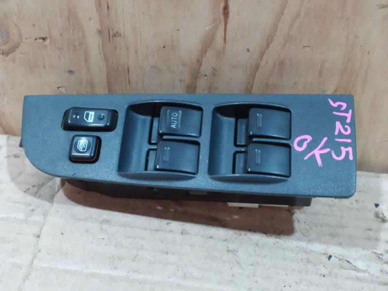 Блок управления стеклоподъемниками Toyota Caldina ST215G 3S-FE 2002
