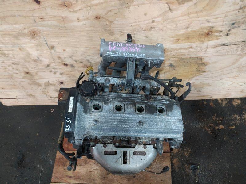 Двигатель Toyota Corolla EE111 4E-FE 1996