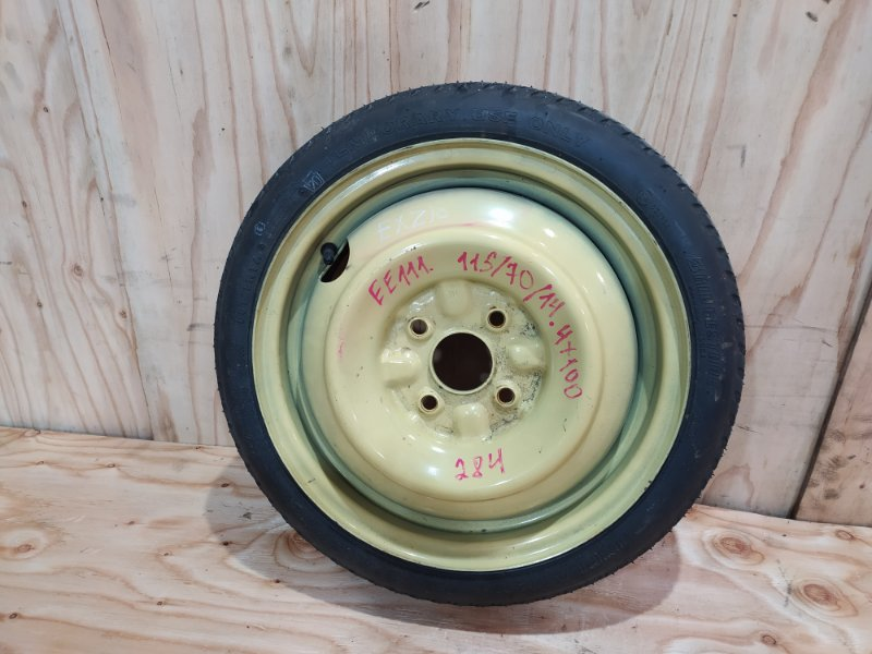 Запасное колесо Toyota Sprinter EE111 4E-FE 1997