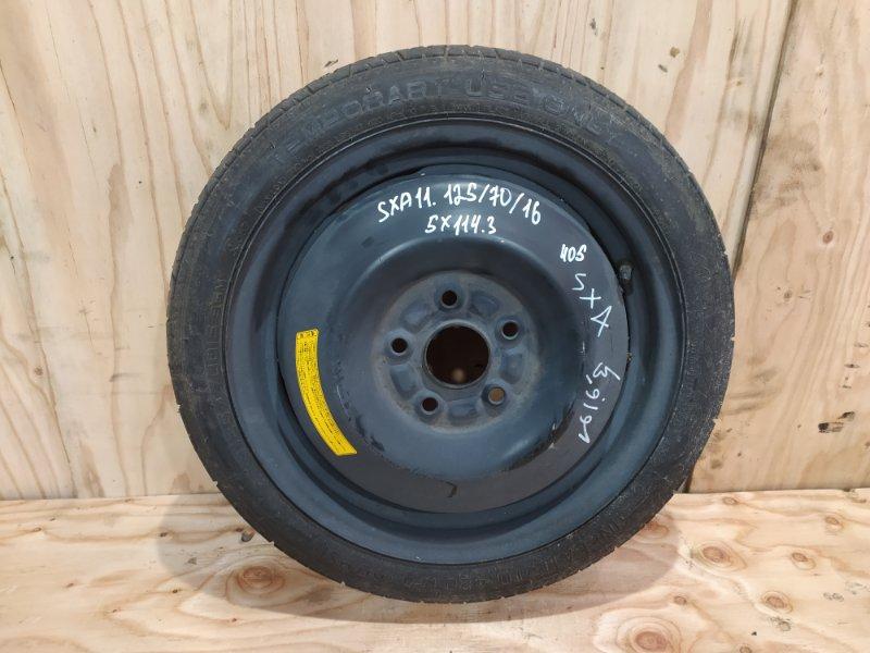 Запасное колесо Toyota Rav4 SXA11G 3S-FE 1997