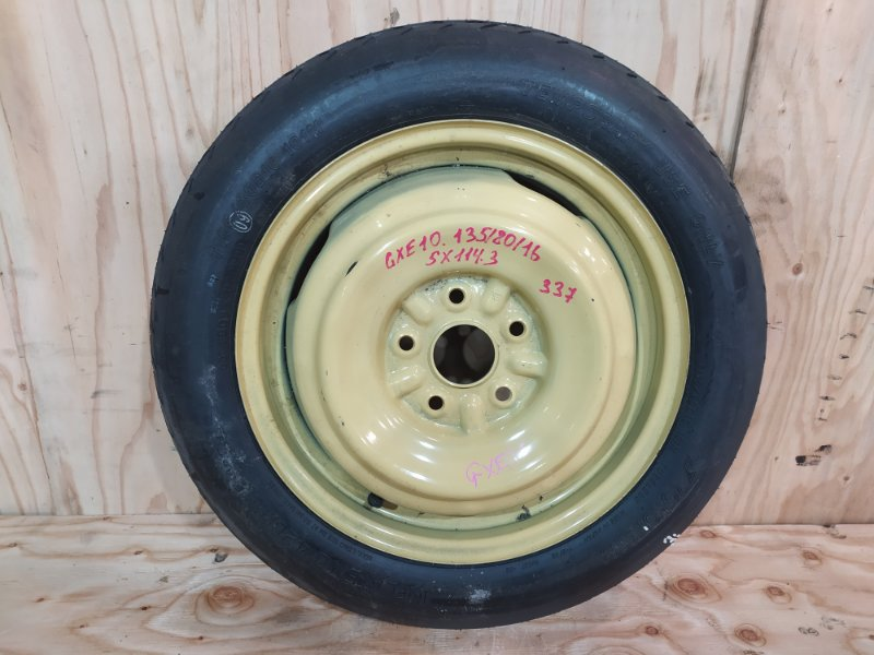 Запасное колесо Toyota Altezza GXE10 1G-FE 1998