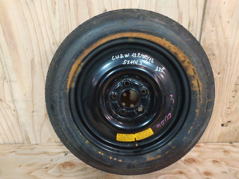 Запасное колесо Mitsubishi Airtrek CU2W 4G63 2003